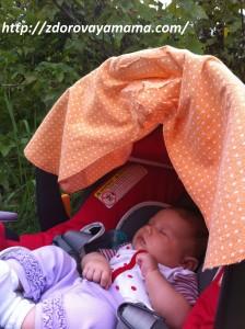 Вики спит на ферме