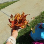 осень с детьми