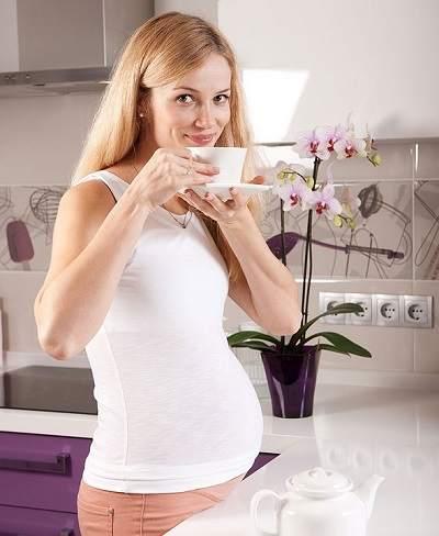 Какой чай пить при беременности?