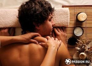сделать мужу массаж