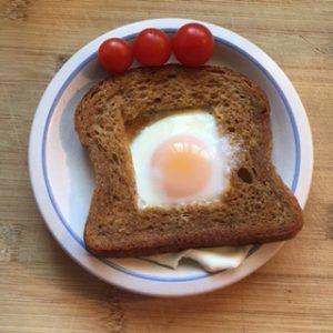 детский завтрак